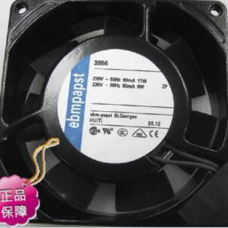 New Original ebmpapst 3956 92*25MM AC230V 9/11W high-precision axial cooling fan