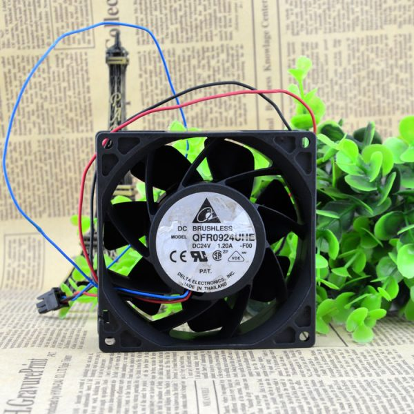 Free Delivery. 9238, 9038, 24 v 1.2 A QFR0924UHE inverter fan power supply fan