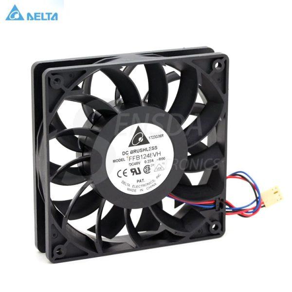 Delta FFB1248VH 12CM 12025 DC 48V 0.22A server inverter axial cooler Cooling Fans