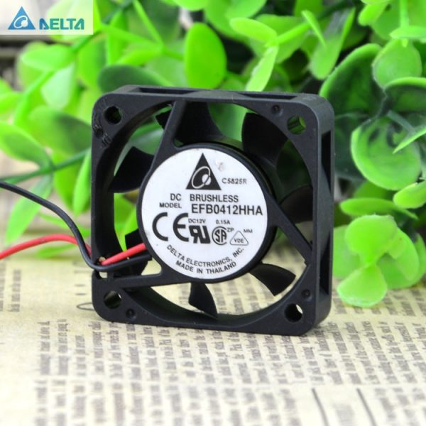 Original Delta EFB0412HHA 4cm 4010 40mm DC 12V 0.15A cpu chassis silent cooling quiet fan