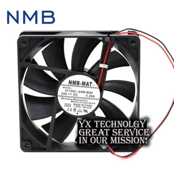 NMB Original 4710KL-05W-B40 12025 24V 0.29A 12CM inverter fan