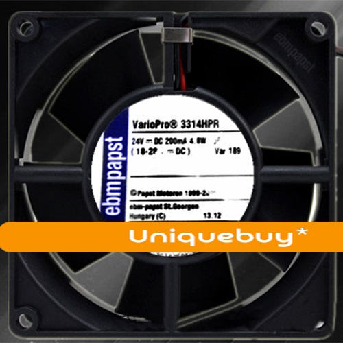 Ebmpapst 4.8W 24V Large air volume 3314HPR 9CM Inverter fan
