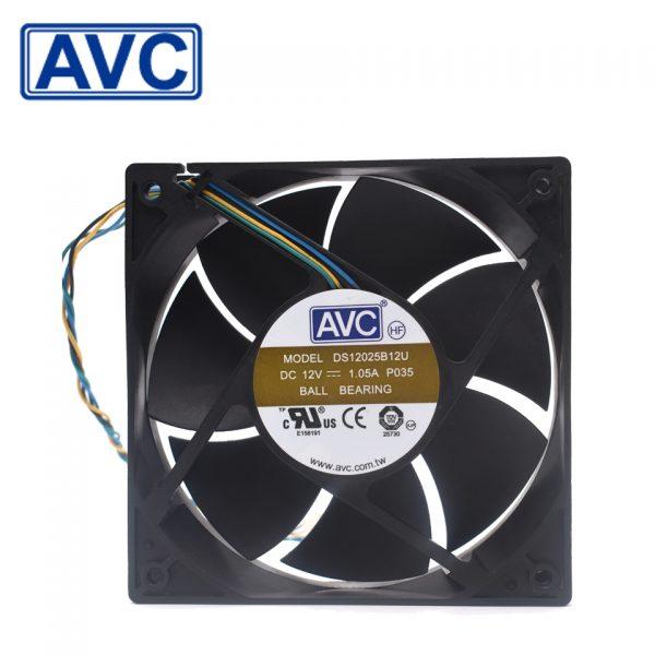 AVC Original DS12025B12U 12025 12V 1.05A fPWM large air volume case fan cooling fan