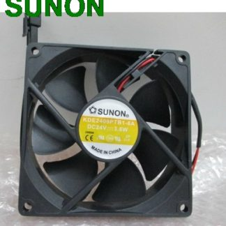 Original SUNON KDE2409PTB1-6 90mm 9225 DC 24V 3.6W 2wrie cpu cooler heatsink axial Cooling Fan 9025 90x90x25mm