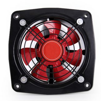 200MM exhaust fan, strong duct flow fan for kitchen toilet wall 8 inch, mute axial flow fan square shape, ventilator fan