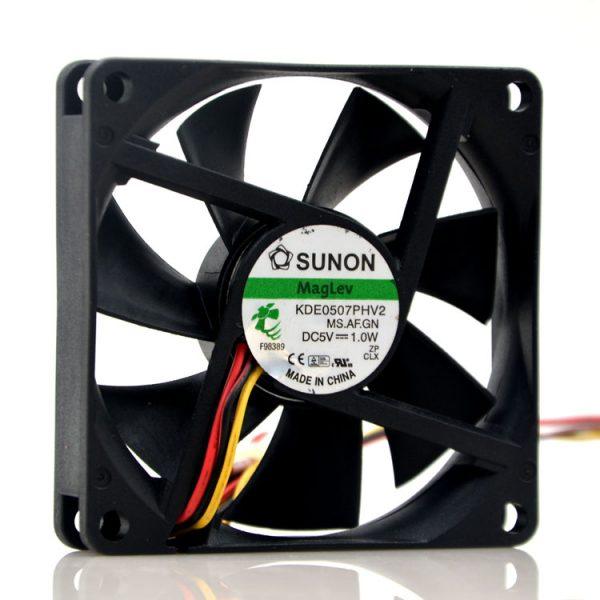 Original SUNON fan KDE0507PHV2 MS.AF.GN 7015 7CM 5V 1.0W 7cm line fan