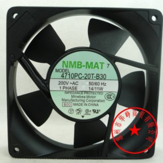 4710PC-20T-B30 200V 14/11W NMB 4710PS-22T-B20 120*120*25MM 9/8W 220V 12cm cabinet cooling fan