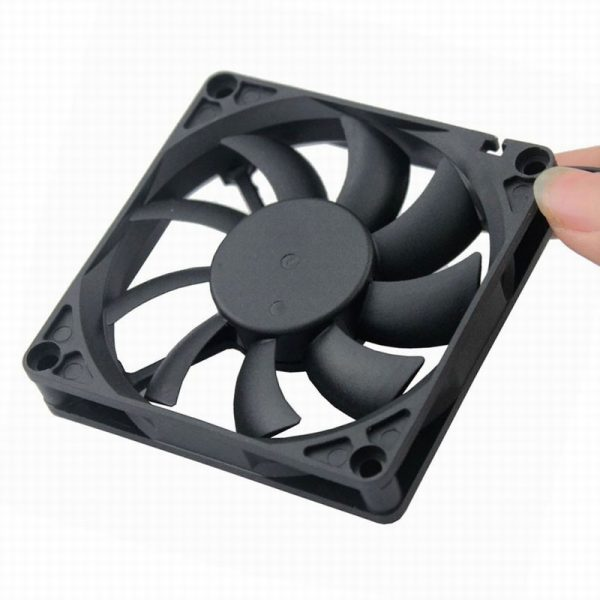 10 pcs Gdstime 12V Radiator 80mm x 15mm Computer Case DC Brushless Cooling Fan PC CPU Axial Fan 80x80mm 8cm 2Pin