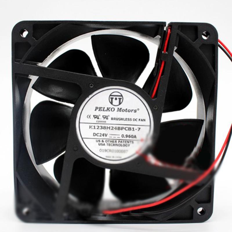 ADDA 80*80*25MM AD0824UB-A71GL DC 24V 0.26A 8CM 2Pin Cooling Fan
