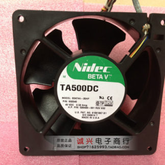 Original nidec TA500DC B34744-35HP 48V 0.5A 13CM 127504 wire dual ball bearing cooling fan