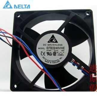 Delta EFB1248VHE-ROO 48V 0.21A 12038 12CM 3P axial cooling fan