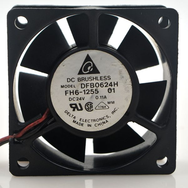 New original DFB0624H 24V 0.11A 6CM 6025 2-wire inverter ultra-quiet cooling fan