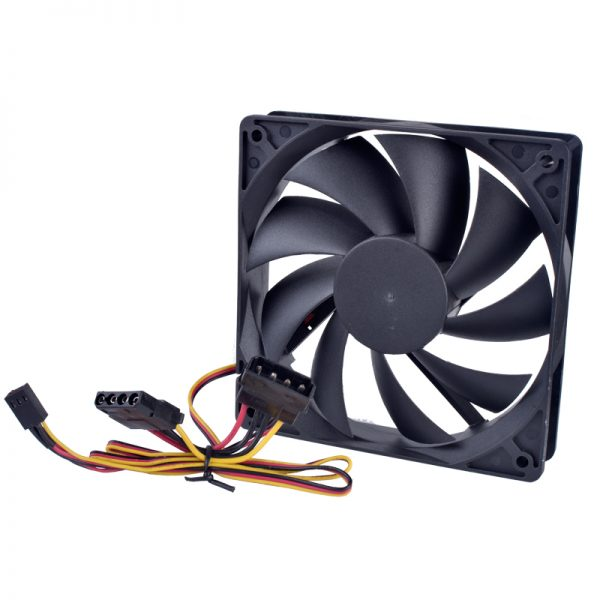 Free shipping AnChaoPu 12025 120mm fan 120x120x25mm 12V 0.10A Computer CPU cooler cooling fan Ultra-quiet computer power cooling