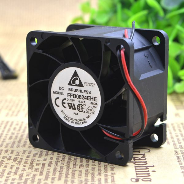 Free Delivery. FFB0624EHE 24 v 0.57 A 6 cm three line speed measuring 6038 cm ball fan