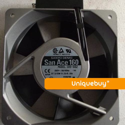 16050 axial fan 109-602 37.5/33W 200V For Sanyo 160*160*50mm Inverter fan
