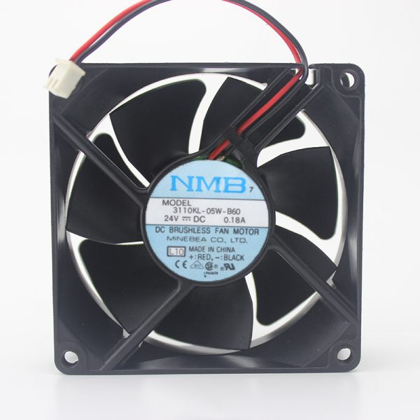 Original 3110KL-05W-B60 8025 8cm 24V 0.18A ultra-durable inverter fan
