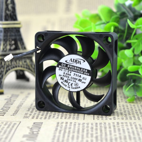ADDA AD0405HB-G72 5V 0.25A Bearing double ball cooling fan