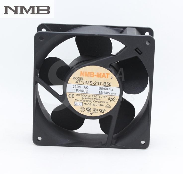 Nmb 4715ms 23t B50 12cm 12038 Ac 230v 15w Dc Cabinet Cooling Fan