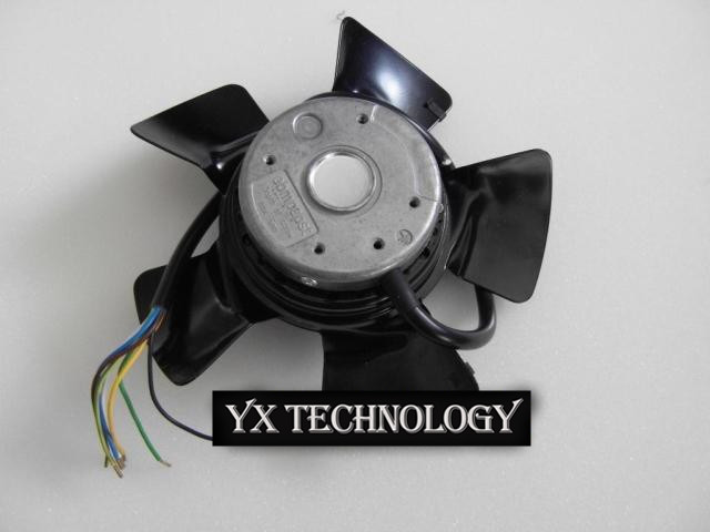 Brand new original inverter cooling fan A2D200-AA02-01 air suction-type  control cabinet fan 200*73mm