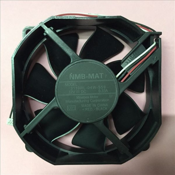 3110RL-04W-S59, U01 DC 12V 0.33A 80x80x25mm Server Square Fan