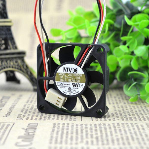 AVC 50*50*10 Slim silence 5CM 5V 0.18A 5010 C5010B05M cooling fan