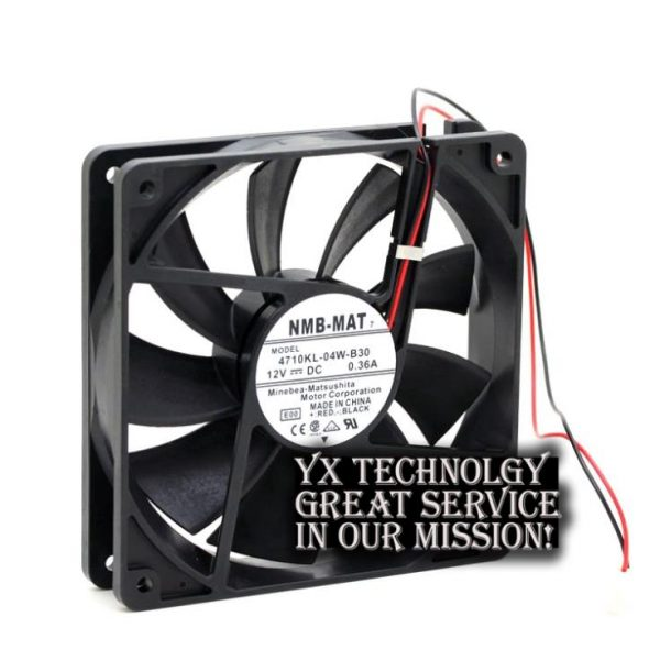 New and Original 4710KL-04W-B30 12025 12CM 0.36A 12V cooling fan for NMB 120*120*25mm