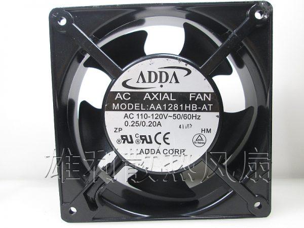 Original ADDA AA1281HB-AT 120*120*38MM 110V 12CM dual ball bearing cooling fan