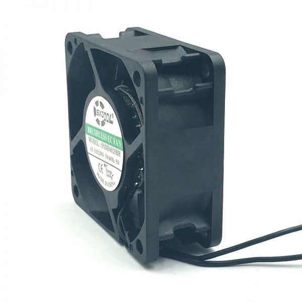 SXDOOL SXDE6025HB Cooling fan 110V 115V 220V 230V 6025 60mm 606025mm 5W 5500RPM 25.2CFM powerful cooler small size