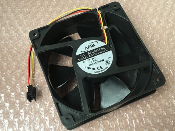Original ADDA 420-430-440 inverter 15kw dedicated three-wire fan AD1224UB-F52