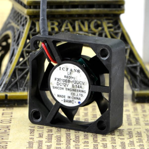 Free Delivery. New original F3010EB - 12 ucv 3 cm to 12 v 0.14 A fan
