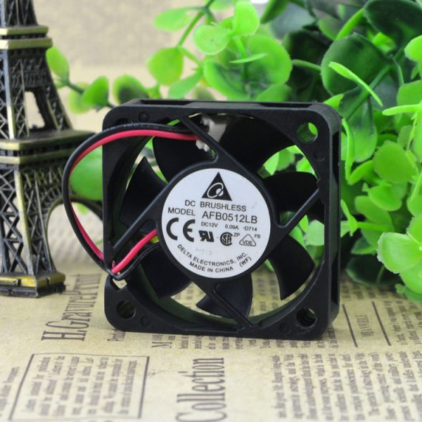 Free Delivery. New AFB0512LB D714 5015-12 v 0.09 A 5 cm ultra-quiet cooling fans