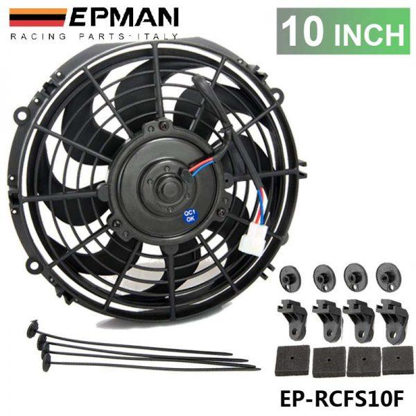 "10"" Universal EPMAN 12 V 70W Slim Pull Push Racing Electric Radiator Engine Cooling Fan EP-RCFS10F"