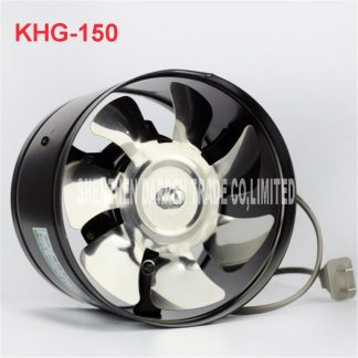 KHG-150 Air Cleaning of the kitchen ventilator axial fan bathroom exhaust fan of the fan In Sewer Line Extractor Fan