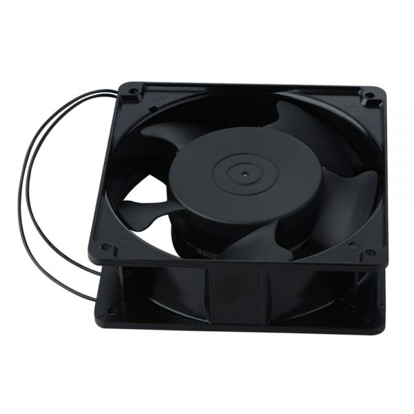 1 Piece Replacement Cooler Fan 12038 120x38mm 12cm 120mm 220V 240V AC Cooling Fan Metal