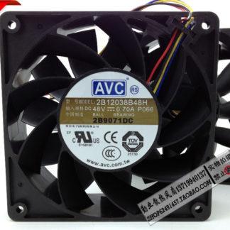 New original AVC 2B12038B48H 12CM 12038 48V 0.70A 120 * 120 * 38mm4 wire PWM fan speed control
