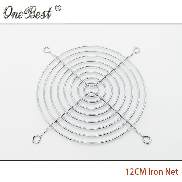 12CM Fan Iron Net CPU Cooling Fan Cover Finger Guard Motherboard Fan Protection Net 120*120MM Computer Fan for 12025/12038 AC/DC