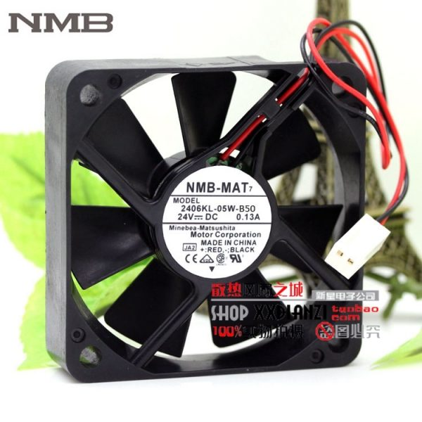 original Nidec D06K-24TU 6025 24V 0.10A 48B AX inverter cooling fan
