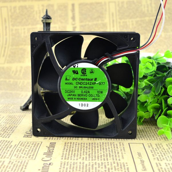 New original CNDC24Z4P-977 12038 24V 0.42A 10W 12CM inverter fan