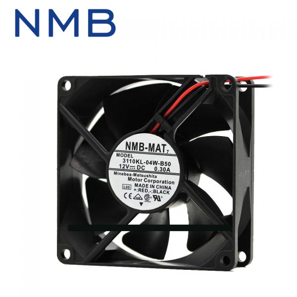 NMB Brand new inverter fan 3110KL-04W-B50 12V DC genuine authentic 80*80*25mm