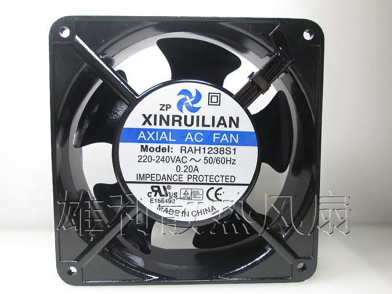 Free Delivery.RAH1238S1 220-240V AC 0.20A 12038 12CM cabinet fan metal AC fan