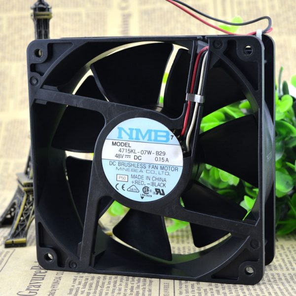 Free Delivery. 4715 kl - 07 w - 48 v 0.26 A b-29 original 120 * 3 line 38 inverter fan