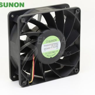 Original SUNON PSD2412PMB2 24V 15.0W cpu cooler heatsink axial Cooling Fan 12038 120x120x38mm 12cm