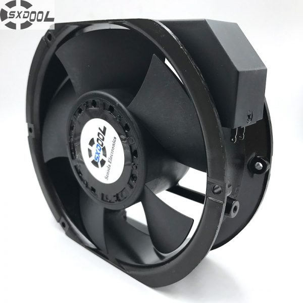 SXDOOL industrial fan 6C-230HB C 1751 17251 17cm AC 220V capacitor run type case cooling 172*150*51MM 2850/3400 RPM 198/235CFM