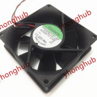 SUNON KD2408PTB1-6A 318.B2076.GN DC 24V 3.4W 2-wire 80x80x25mm Server Square fan