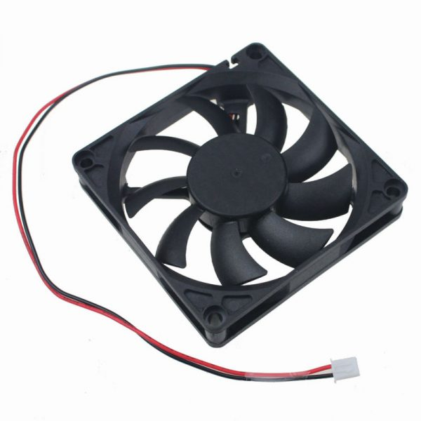 200Pcs Gdstime 80mm x 15mm DC 12V Dual Ball Bearing Computer Case Brushless Cooler Axial Cooling Fan 80x80x15mm 8cm