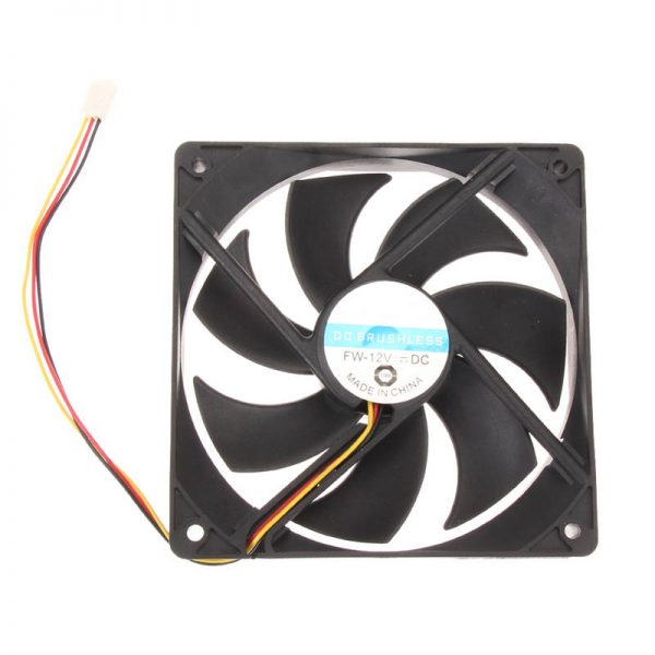 120x25mm 120mm Fan 12V DC Brushless PC Computer Case Cooler 3Pin Connector Cooling Fan For CPU Radiating For Desktop PC