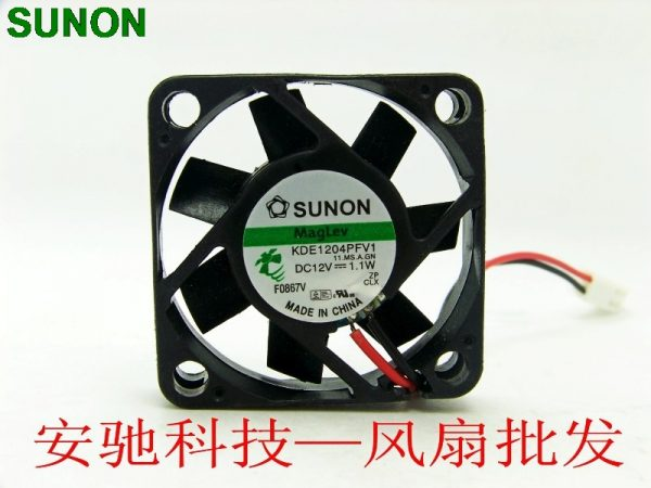 Original SUNON 4010 KDE1204PFV1 12V 1.1W 3 -line 40mm 4cm ultra-quiet fan
