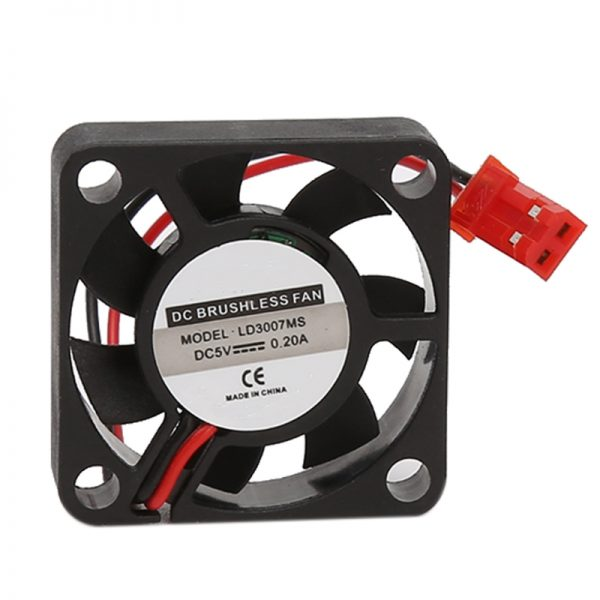 DC 5V 30*30*7mm Small 2Pin Brushless 2-Wire 3007S Axial Cooler Cooling Fan - L059 New hot