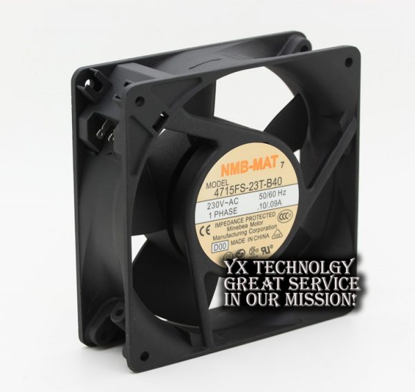 NMB The new 4715FS-23T-B40 12038 12CM 230V 0.10A / 0.09A fan 120*120*38mm
