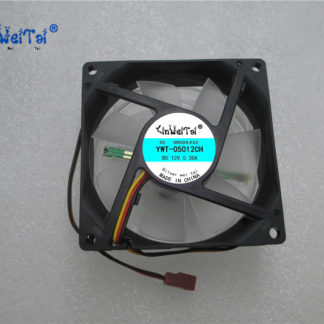 CPU Laptop Cooling Fan FOR SP802512H-03:AXIAL FAN, 80MM, 12VDC, 300mA Speed control light CPU cooling fan